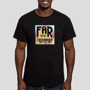 Far Ordinary Men's Fitted Dark T-Shirt