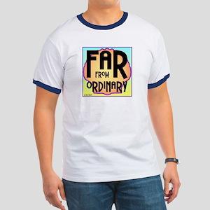 Far Ordinary Men's Ringer T-Shirt