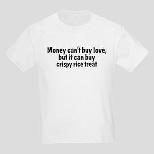crispy rice treat (money) Kids Light T-Shirt