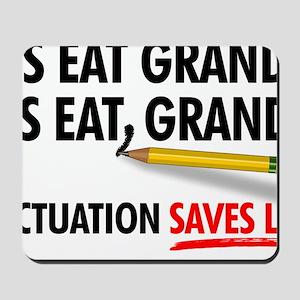 Punctuation Alternate Mousepad