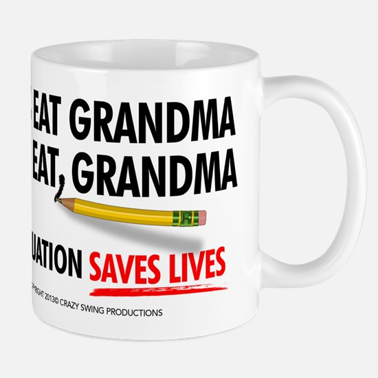 Punctuation Alternate Mugs