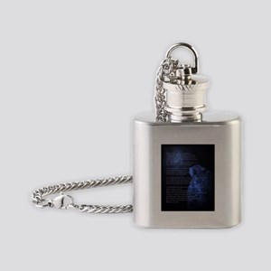 When Im an Old Horsewoman Flask Necklace