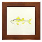 Yellowstripe Goatfish Framed Tile