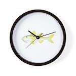 Yellowstripe Goatfish Wall Clock