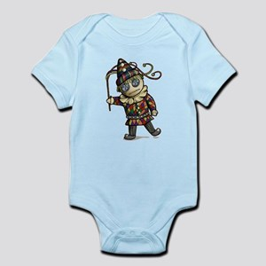 Harlequin Button Eyes Body Suit