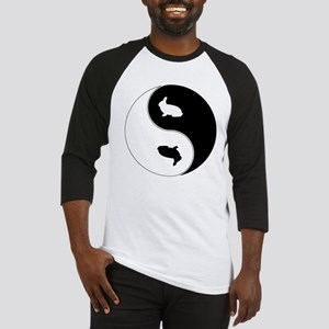 Yin Yang Rabbit Symbol Baseball Jersey