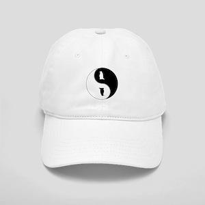 Yin Yang Penguin Symbol Cap
