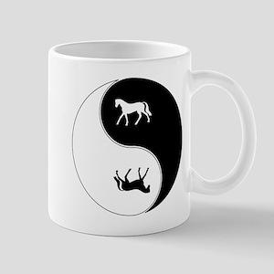 Yin Yang Horse Symbol Mug