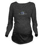 The Doodler Long Sleeve Maternity T-Shirt