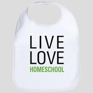 Live Love Homeschool Bib