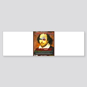 William Shakespeares Land of the Dead Bumper Stick