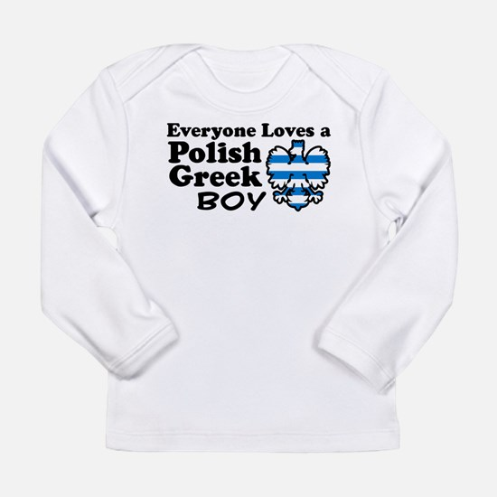 Polish Greek Boy Long Sleeve T-Shirt