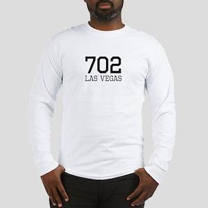 Las Vegas Area Code 702 Long Sleeve T-Shirt