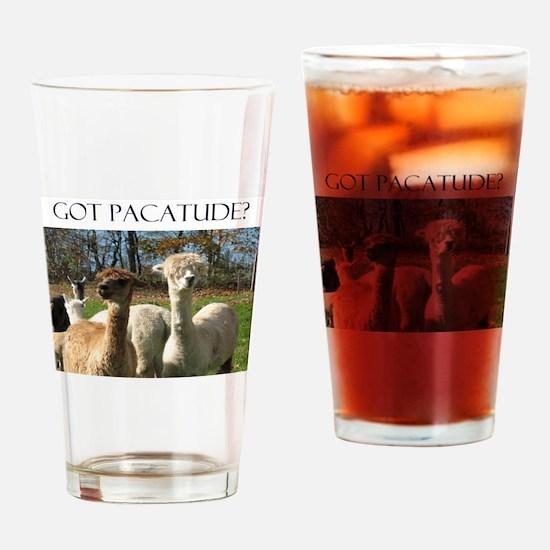 Got Pacatude Drinking Glass