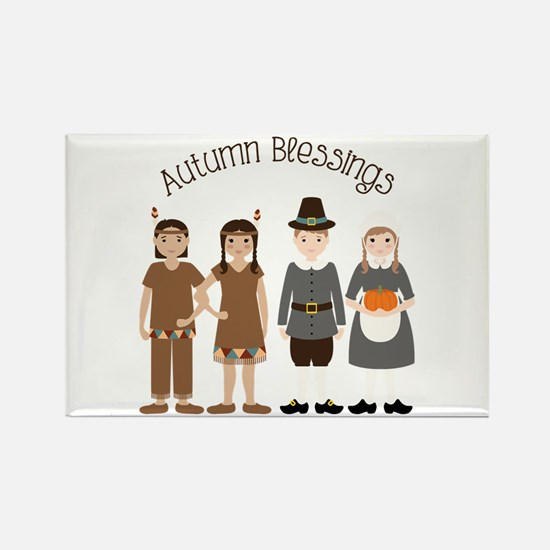 Autumn Blessings Magnets
