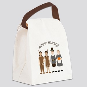 Autumn Blessings Canvas Lunch Bag