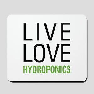 Live Love Hydroponics Mousepad