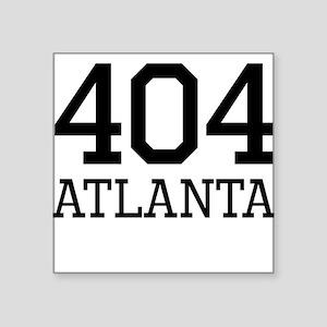 Atlanta Area Code 404 Sticker