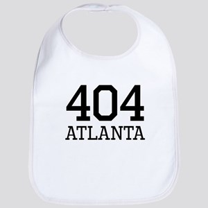 Atlanta Area Code 404 Bib