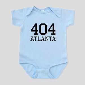 Atlanta Area Code 404 Body Suit
