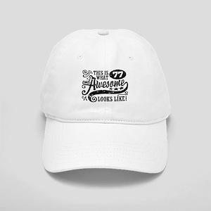 77th Birthday Cap