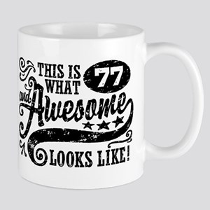 77th Birthday Mug