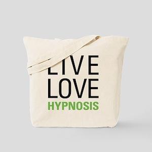 Live Love Hypnosis Tote Bag