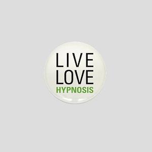 Live Love Hypnosis Mini Button