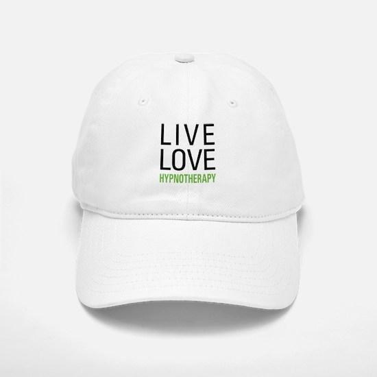 Live Love Hypnotherapy Baseball Baseball Cap