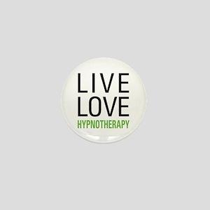 Live Love Hypnotherapy Mini Button