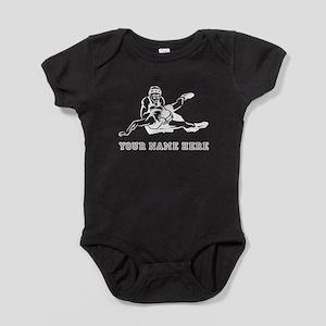 Custom Wrestling Baby Bodysuit