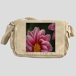The Beauty of The Dahlia Flower Messenger Bag