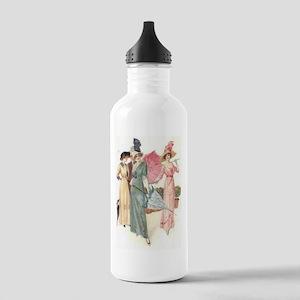 Triad Of Edwardian Ladies Water Bottle