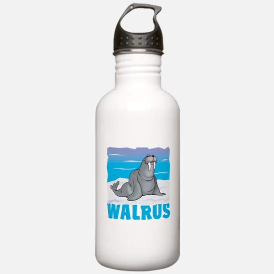 Kid Friendly Walrus Water Bottle