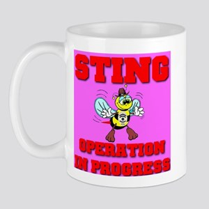 Sting Operation In Progress Mug