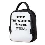 Beautiful, Bee Yoo Tea Full Neoprene Lunch Bag