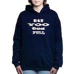 Beautiful, Bee Yoo Tea Full Hooded Sweatshirt