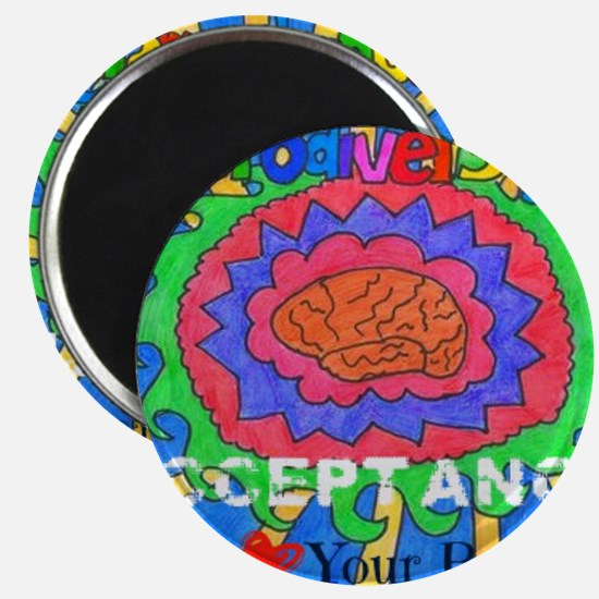 We Love Your Brain Magnets
