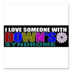 downs Square Car Magnet 3