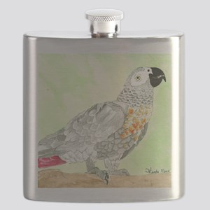 Voice-African Gray Flask