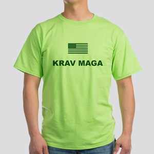 Krav Maga USA Green T-Shirt
