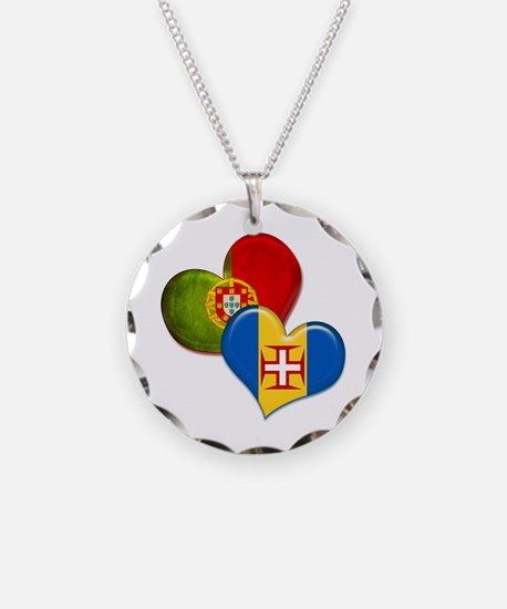 Portugal and Madeira hearts Necklace