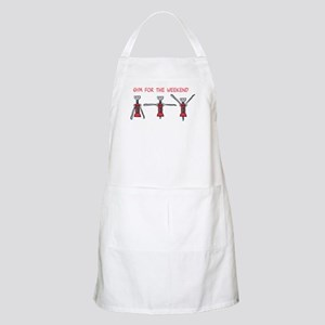 Gym for the Weekend Apron
