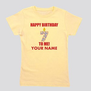 Happy Birthday To Me 7th Birthday (Custom) Girl's
