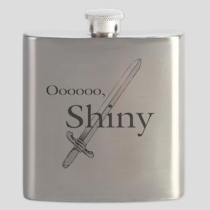 Oooo, Shiny Flask