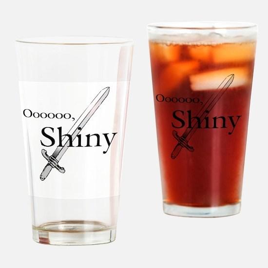 Oooo, Shiny Drinking Glass
