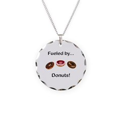 Fueled by Donuts Necklace