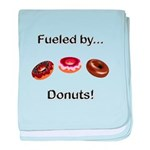 Fueled by Donuts baby blanket
