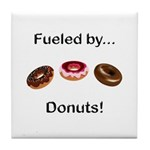 Fueled by Donuts Tile Coaster