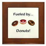 Fueled by Donuts Framed Tile